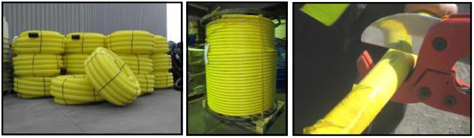 LPG kompozītmateriāla cauruļvadi
