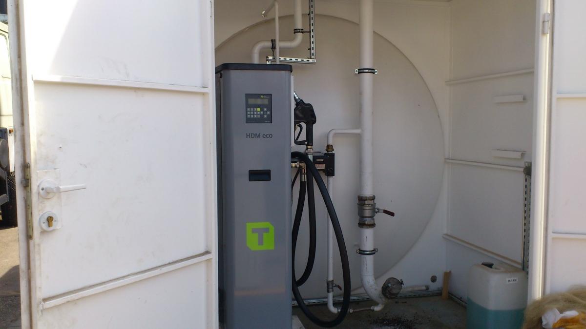 Horn Dīzeļdegvielas uzskaites un izdales sistēma HDM 80 Eco