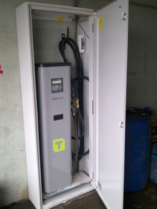 Horn Dīzeļdegvielas uzskaites un izdales sistēma HDM 100 Eco