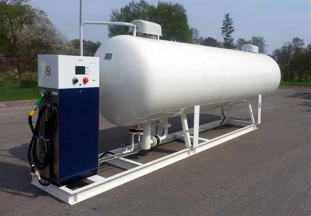 Adast Minor LPG Degvielas Uzpildes Iekārta